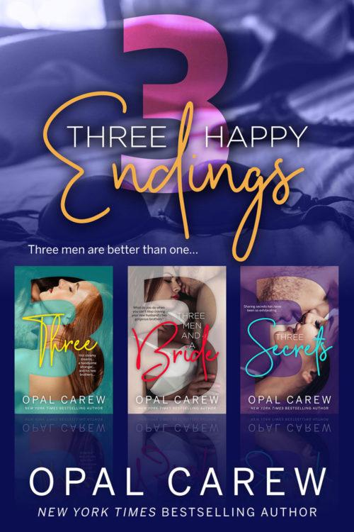 Three Happy Endings Cover Art