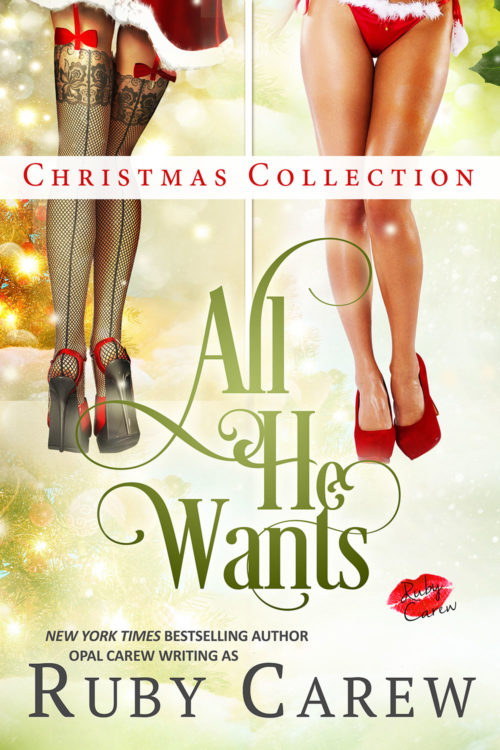 All He Wants Christmas Collection Cover Art
