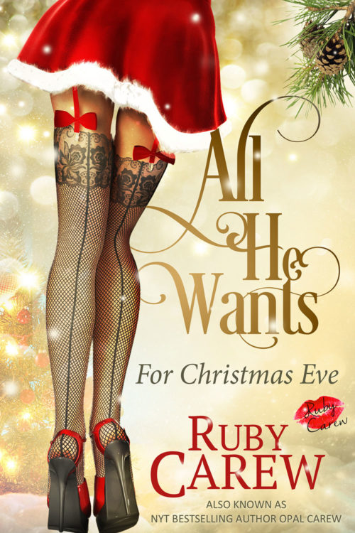 All He Wants for Christmas Eve Cover Art