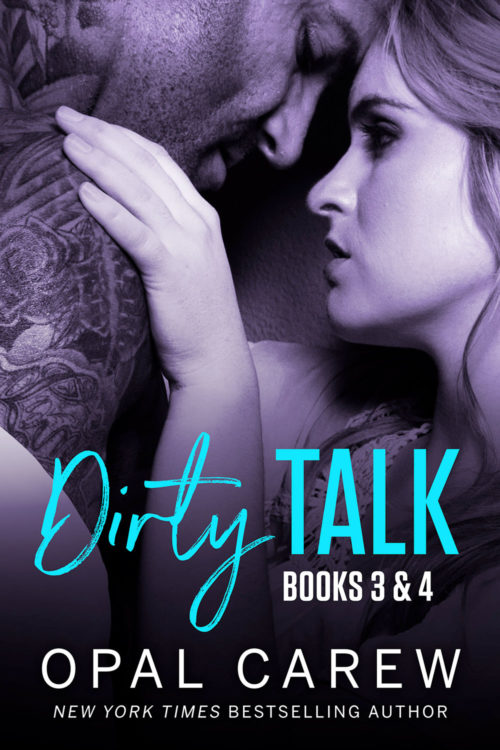 Dirty Talk – Books 3 & 4 Cover Art