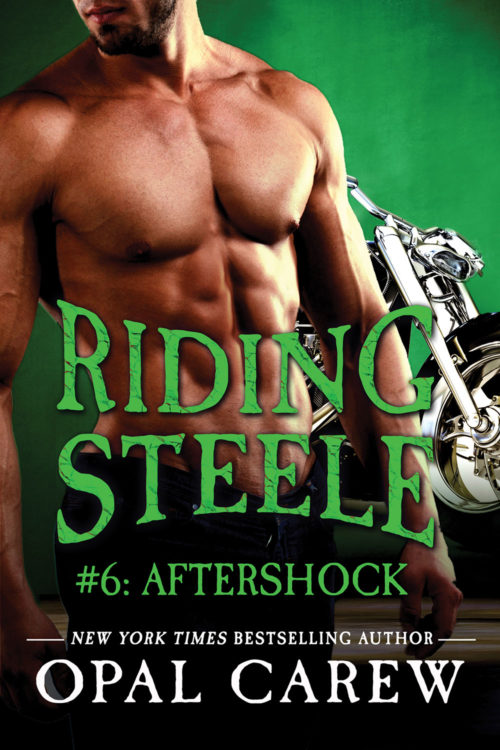 Riding Steele: Aftershock Cover Art