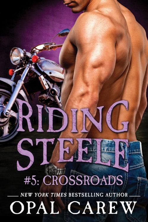 Riding Steele: Crossroads Cover Art