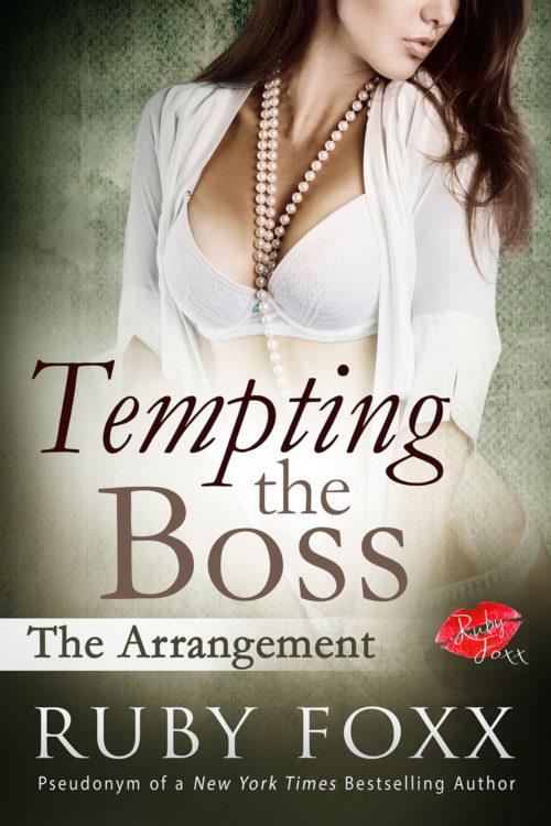 Tempting the Boss: The Arrangement Cover Art