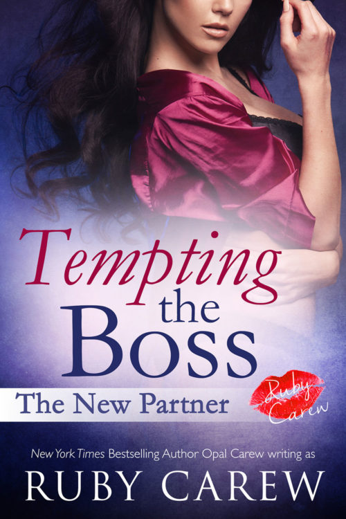 Tempting the Boss: The New Partner Cover Art